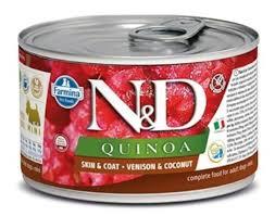 <b>Консервы Farmina N&D</b> Quinoa Dog <b>Adult</b> Mini Venison & Coconut ...