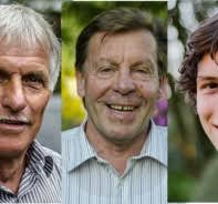 Die drei Finalisten Christian Hohl, Hans-Peter Lang und Valentin Bühlmann (Bilder zvg.) - 230165-Christian-Hohl-und-Hans-Peter-Lang