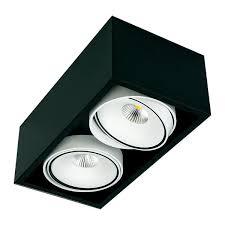 ceiling mounted spotlight indoor led aluminum gran kuvet ceiling mounted spot light