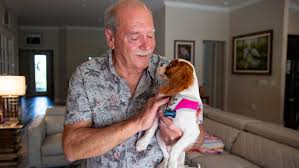 Florida man who saved his dog from alligator shares update on <b>puppy</b>