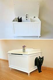 litter cabinet catbox cat litter box covers furniture