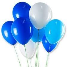 HakunaMatata Party Balloons <b>12inch 50 Pcs</b> Latex <b>Blue</b> Balloons ...