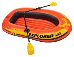 Надувная <b>лодка Intex Explorer</b>-<b>300</b> Set (58332) — купить по ...