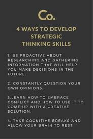 must see application for employment pins cover letter strategic thinking ranks high on almost every employer s list of desirable traits for example