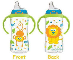 2 Pack NUK <b>Large Learner Cup</b>, 10 Ounce, Circus Animals Spill Proof