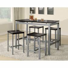size dining room contemporary counter: atlus counter metal table amp  stools