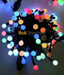 <b>Гирлянда светодиодная Fiesta</b> small ball, 10м.,100 <b>led</b>, 13мм ...