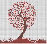 Вышивка крестом-любовь бесплатные схемы