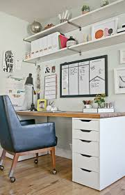 chic home office decor:  steps to a more organized office decor fix