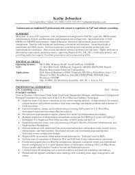 hana sample resume sap hana samle  seangarrette cohana sample resume