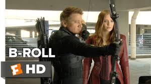 Captain America: Civil War B-<b>ROLL 1</b> (<b>2016</b>) - Jeremy Renner ...