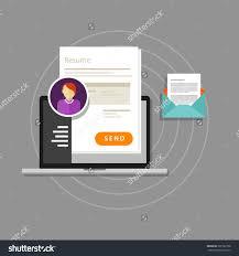 curriculum vitae cv resume employee recruitment data paper work curriculum vitae cv resume employee recruitment data paper work send online stock vector illustration 301562708 shutterstock