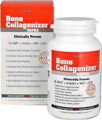 Natural Factors <b>BioSil</b>® <b>Bone Collagenizer</b>® <b>Ultra</b> -- 120 Vegetarian ...