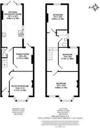 Remodelling a Terrace   Homebuilding  amp  Renovating   Floor plans     bedroom house for   in Adelaide Road  Ealing  London   Rightmove  Terrace house plan