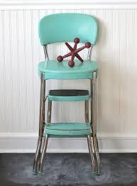 kitchen step stool retro stools