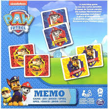 """<b>Paw Patrol</b> - Memo """"<b>Щенячий</b> патруль - <b>Мемори</b>"""" - настольная игра"""