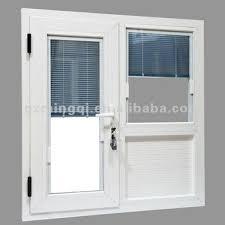 glass door blinds built