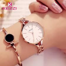 KEZZI <b>Luxury Brand Watches</b> Women Waterproof Stainless Steel ...