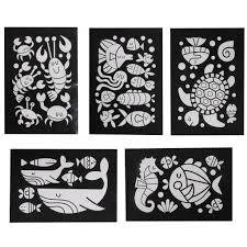 <b>Tiger Tribe Набор для</b> декорирования фольгой Подводный мир ...