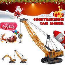 1:55 Crawler Crane <b>Toys Construction</b> Vehicle Engineering High ...