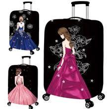 Женский <b>эластичный защитный чехол для</b> багажа, модный ...