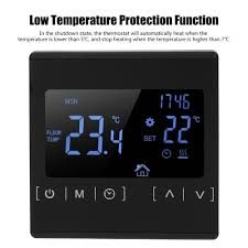 16A <b>MH1822 Electric</b> Heating Thermostat Temperature Controller ...