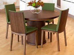 wood extendable dining table walnut modern tables: dining tables dansk essex and kent    page  of