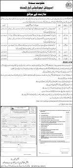 special education department government of sindh jobs in karachi special education department government of sindh jobs