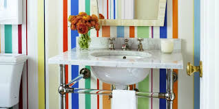 bathroom shower tile design color combinations:  colorful bathrooms to inspire your next makeover