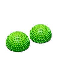<b>Полусфера</b> массажно-балансировочная (набор 2 шт) зеленый ...