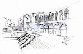 نتیجه تصویری برای معماری پل خواجو