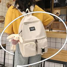 Dcimor 2020 new products The girl's <b>backpack</b> Korean large ...