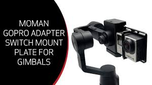 Unboxing / Overview: Moman <b>GoPro Adapter Switch Mount</b> Plate for ...