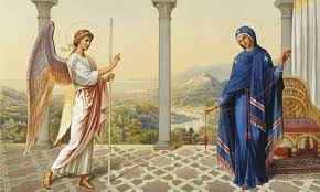 Image result for ο ευαγγελισμοσ τησ θεοτοκου
