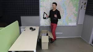 Как собрать офисное <b>кресло</b>? - YouTube