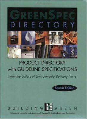 GreenSpec Directory: Product Listings & Guideline specifications