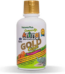 Nature's Plus <b>Animal</b> Parade <b>Source of Life</b> Gold Children's Liquid ...