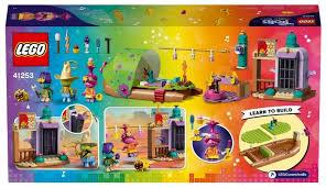 Купить <b>Конструктор LEGO Trolls</b> World Tour 41253 Приключение ...