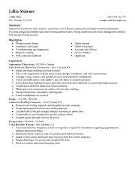sample job resume examples resumes example resumes resume example sample job resume examples resumes resume example electrician objective job resume example apprentice electrician construction standard