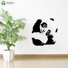 <b>YOYOYU Wall Decal</b> Cute Panda <b>Wall Sticker Vinyl</b> Wall Art Decal ...