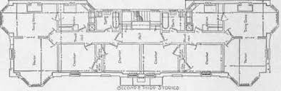 Example Of Apartment House Plans Second and Third Floor Plans of an Apartment House