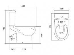 <b>Унитаз</b> - компакт с сиденьем микролифт slim <b>Юнион 1WH302420</b> ...