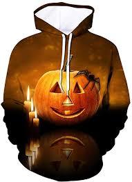 MEIM <b>Halloween Pumpkin Digital Print</b> Hoodies Long Sleeve 3D ...
