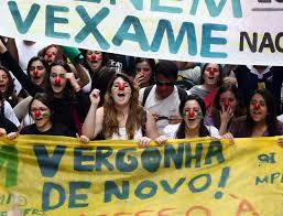 Resultado de imagem para estudantes protestam fotos