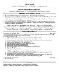 executive recruiter resume   hr recruiter resume samples   resumes    executive recruiter resume   hr recruiter resume samples