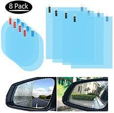 Tdauke <b>8 Pcs</b> Car Rearview <b>Mirror</b> Film, Side <b>Mirror</b> Window ...