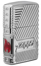 <b>Зажигалка Armor</b>® <b>Bolts</b> Design ZIPPO 29672