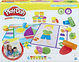 Play-Doh <b>Набор для лепки</b> Текстуры и Инструменты — купить в ...