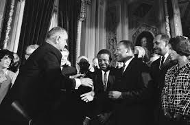 marchon – national liberty museum announces selma speech  amp  essay    articles  middot  president lyndon b  johnson moves to shake hands   dr  martin luther king at