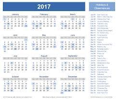 2017 calendar templates and images 2017 calendar holidays